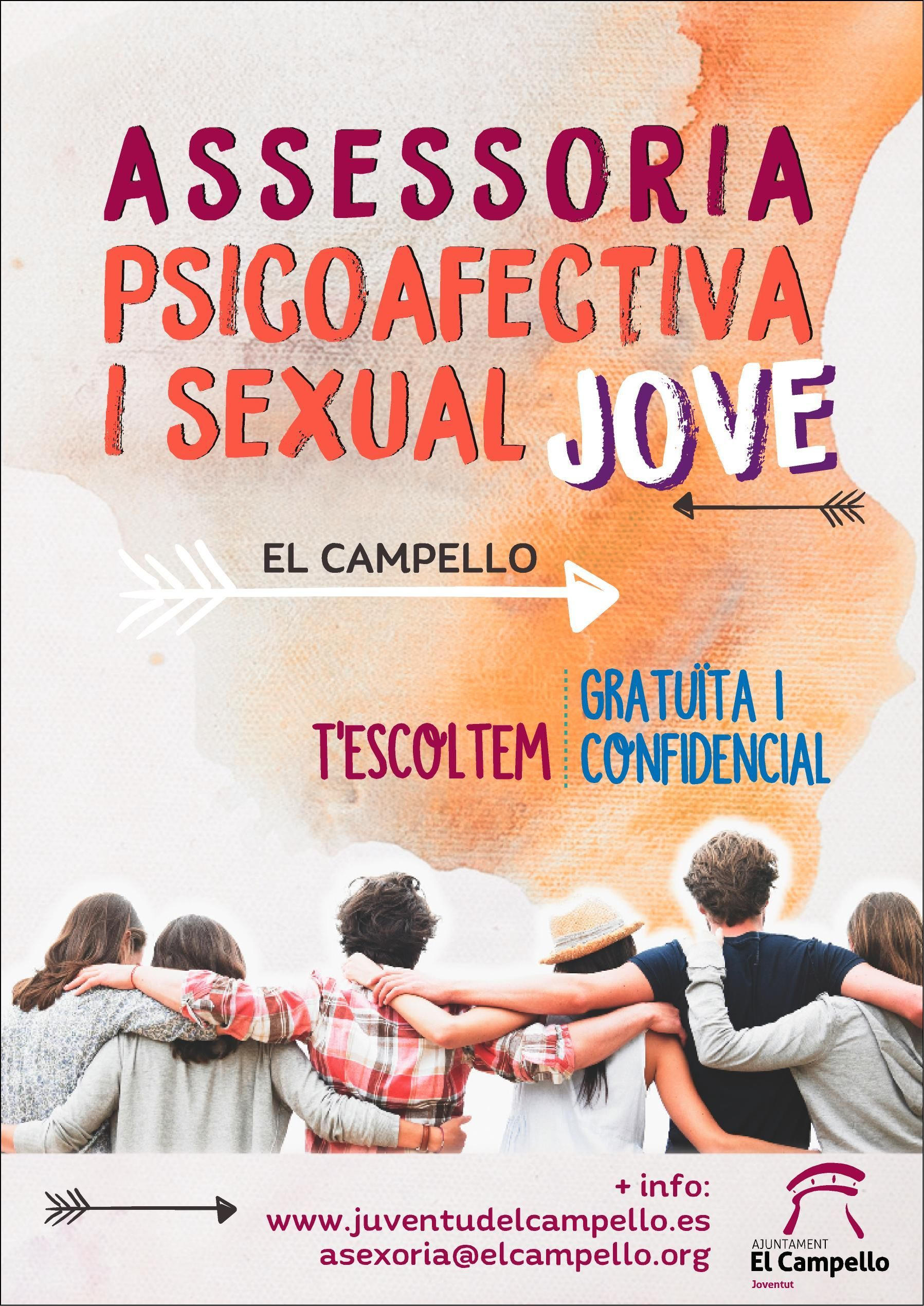Cartel Assesoria Psicoafectiva i sexual Jove 2017