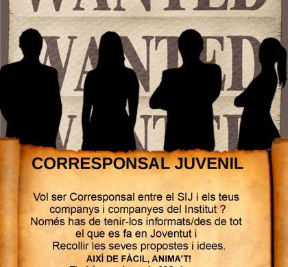 Beca Corresponsal Juvenil 2018-19