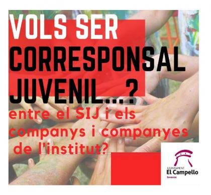 Beca Corresponsal Juvenil 2019-20