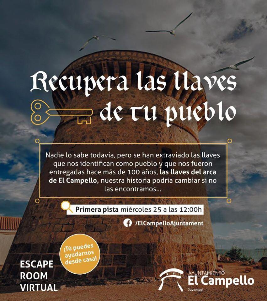 SCAPE ROOM VIRTUAL #yomequedoencasa