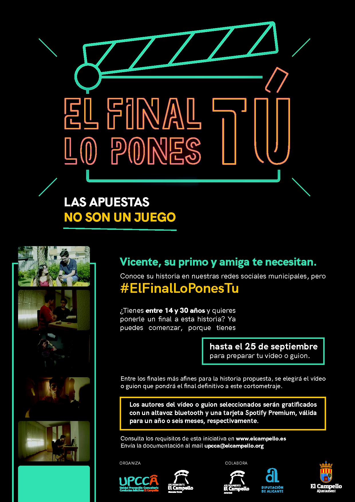 """""""EL FINAL LO PONES TU"""""""