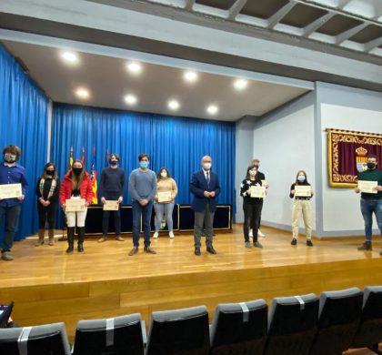 Entrega de premios a los ganadores y ganadoras del XVIII Concurso de Literatura Joven